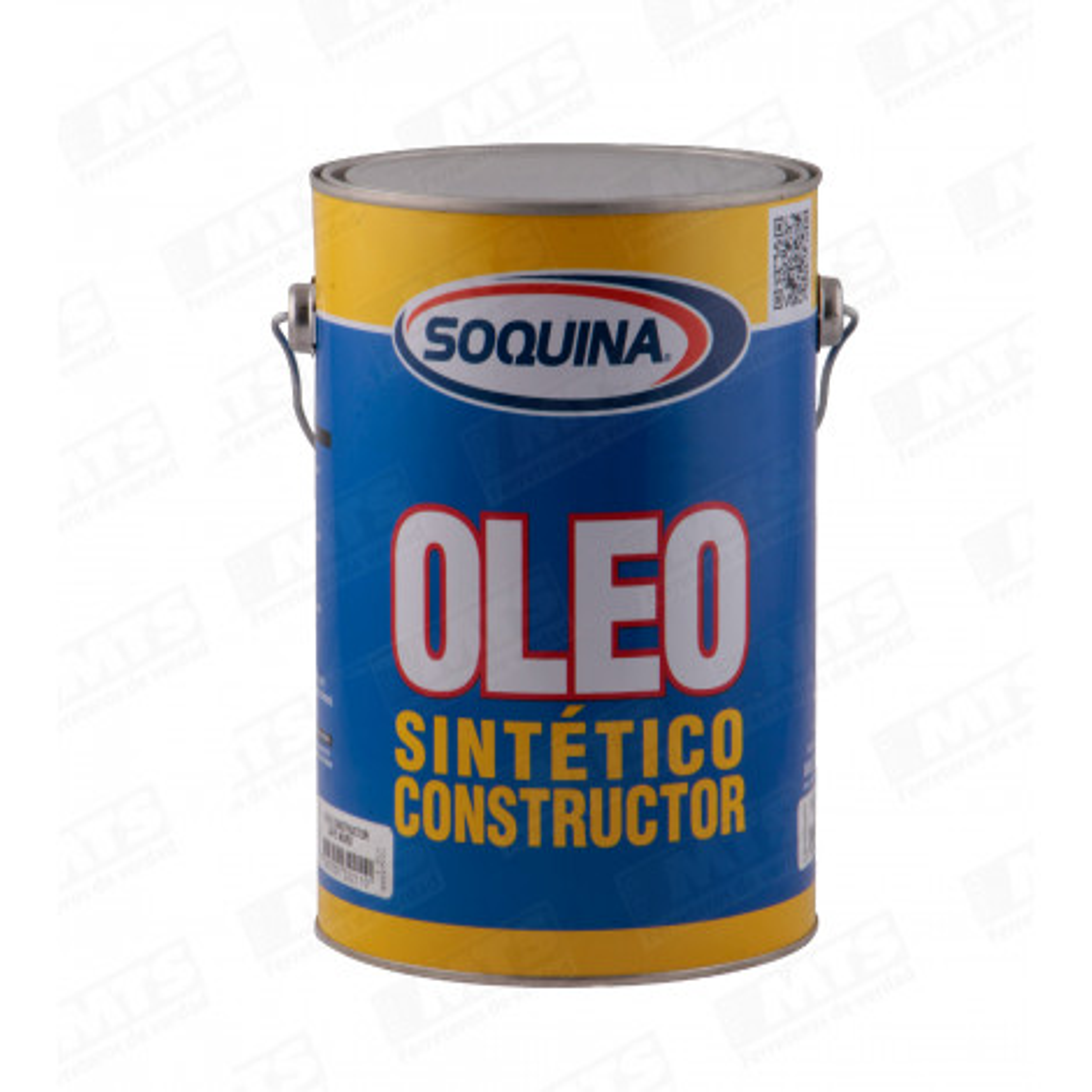 PINTURA SOQUINA OLEO SEMIBRILLANTE CONSTRUCTOR BLANCO 1 GL