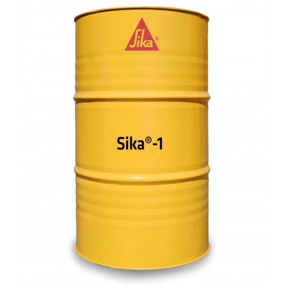 SIKA # 1 EN TAMBOR 200 KG. (IMPERMEABILIZANTE)
