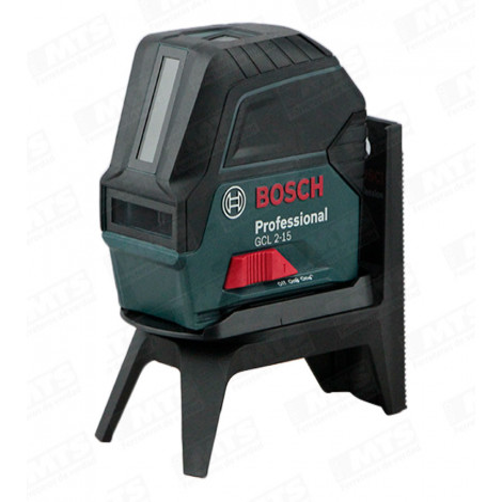 Nivel Laser De Puntolinea Gcl 215 Bosch Acc Rojo