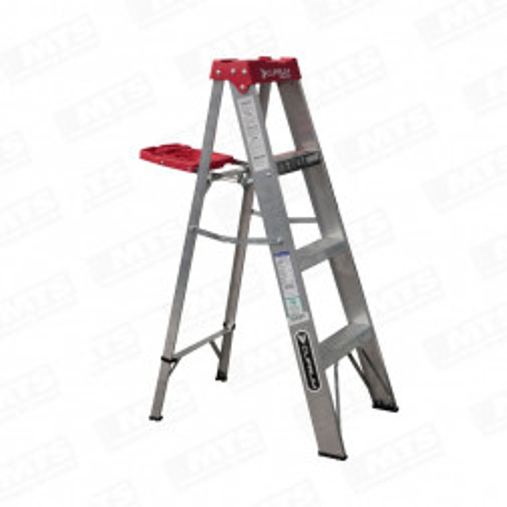 Escalera Aluminio 4 Pelda?os (1.21 Mt Aprox)