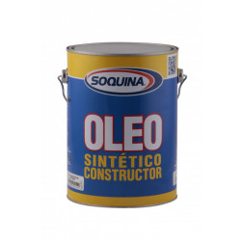 Pintura Soquina Oleo Semibrillante Constructor Azul 1 Gl