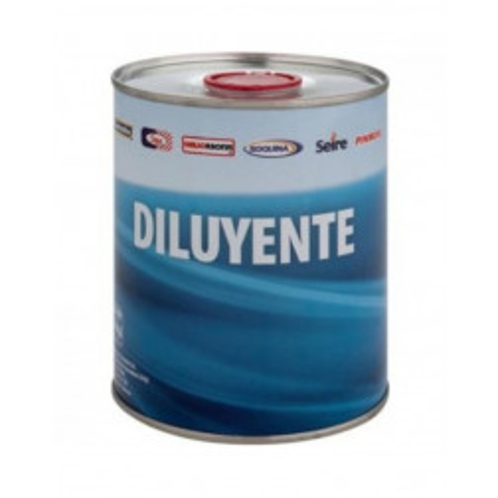 Pintura Diluyente Sipa Pa100 1/4 Gl