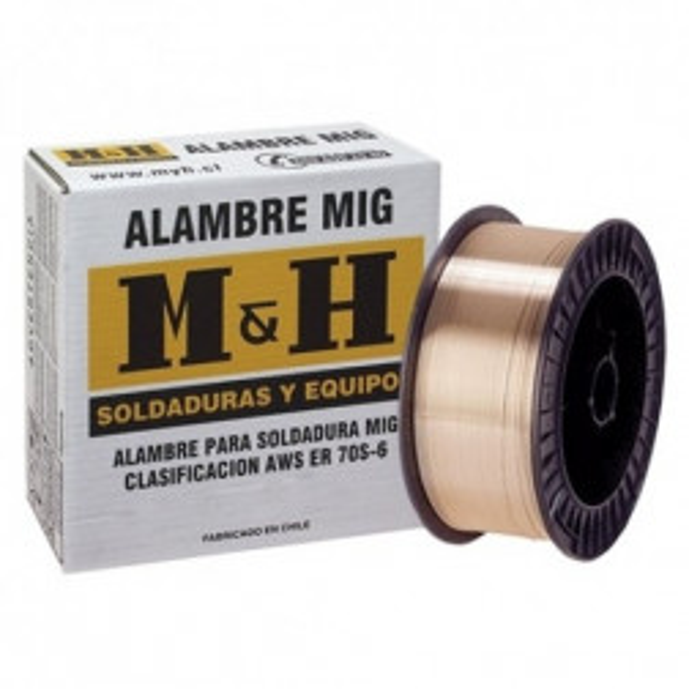 Soldadura Mig M&h 0.9 Rollo 15 Kilos