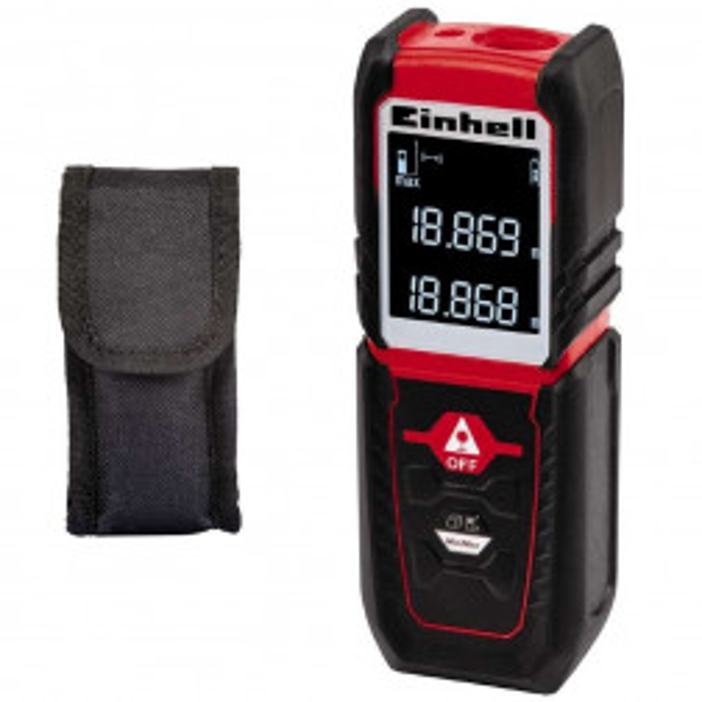 Medidor De Distancia Laser Einhell Tc-ld 25 Metros