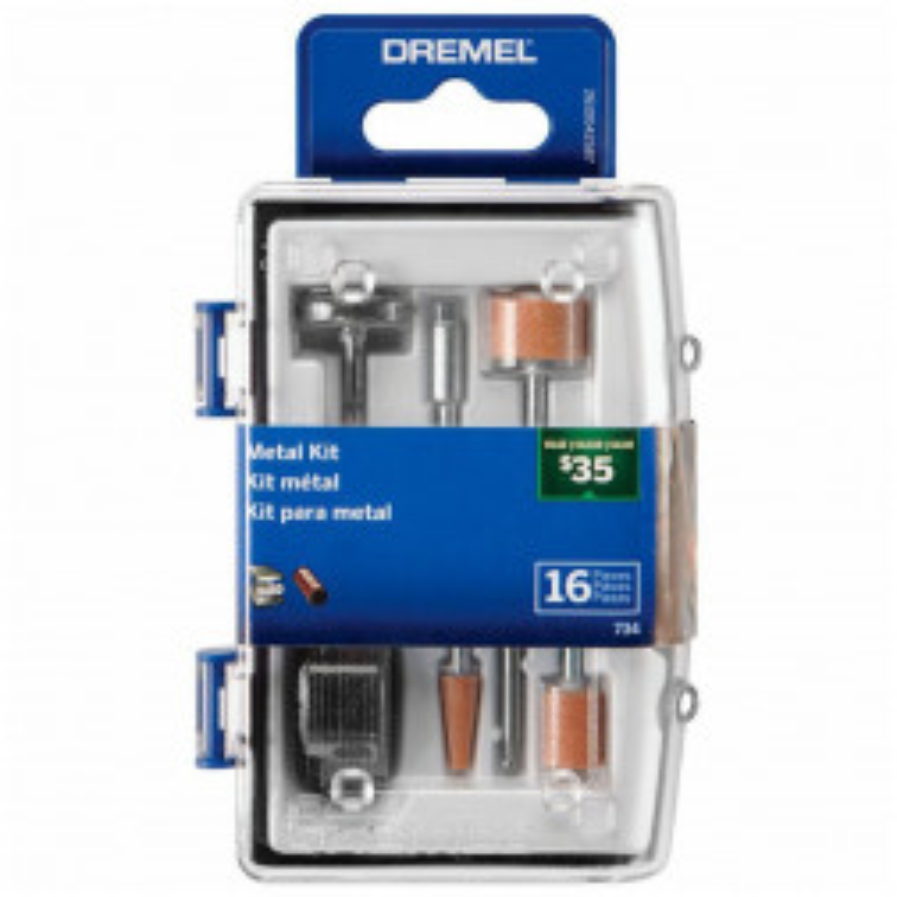 Micro Kit P/dremel P/metal 734 16pzas (26150734ab)