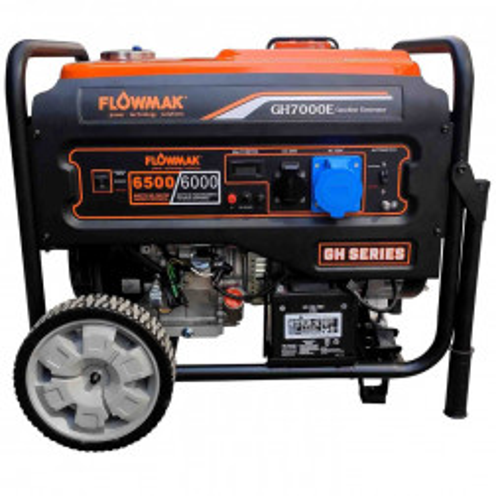 Generador Flowmak Bencinero 6000w Partida Electrica Koslan