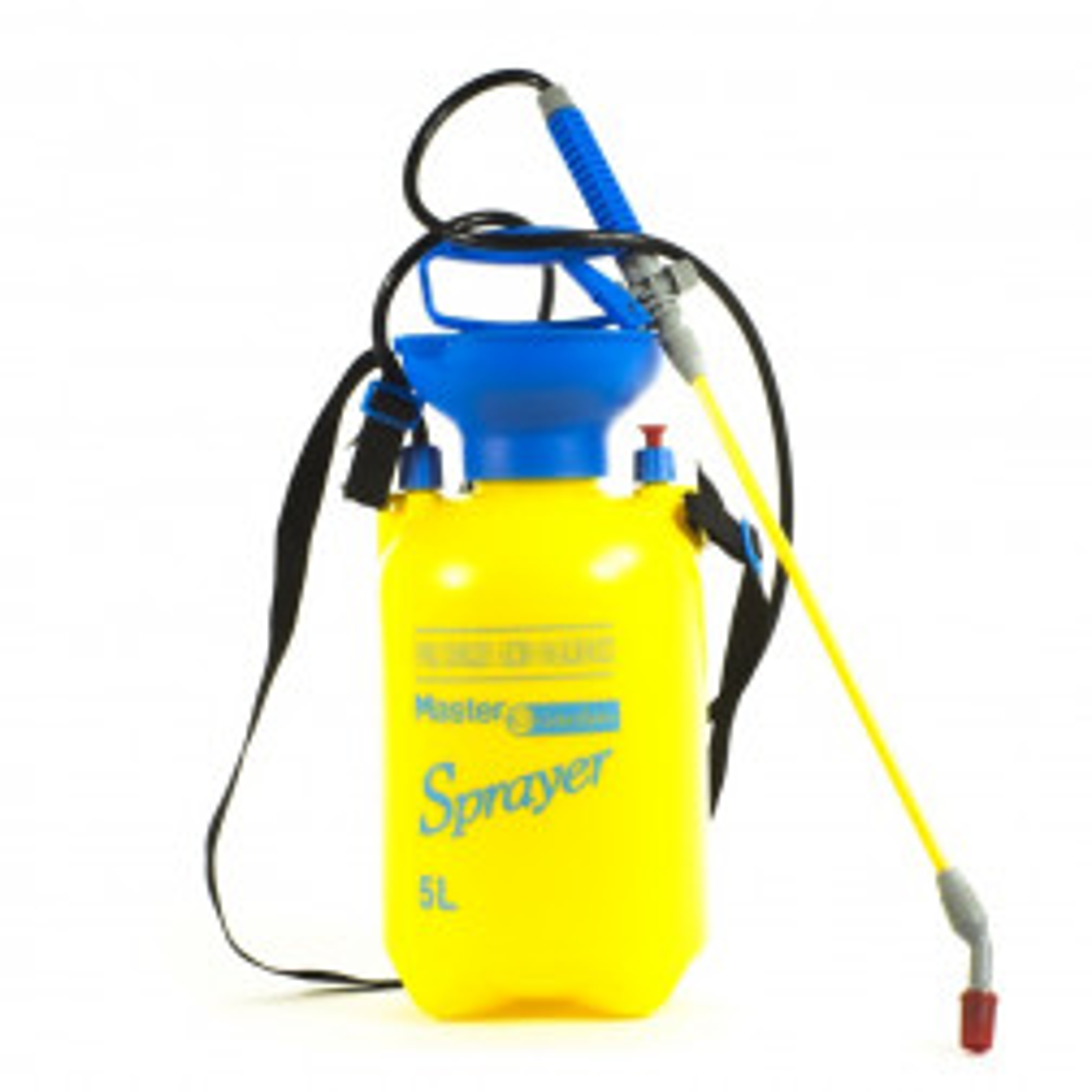Bomba Pulverizador De Espalda Sx5a Amarillo 5lt