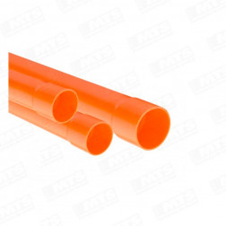 CONDUIT ALTO IMP. 20 mm. X 6 MTS.NARANJA