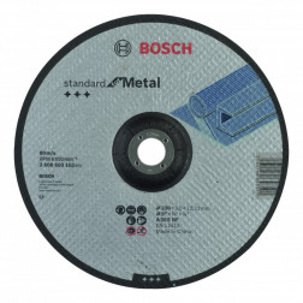 DISCO BOSCH CORTE 9 METAL
