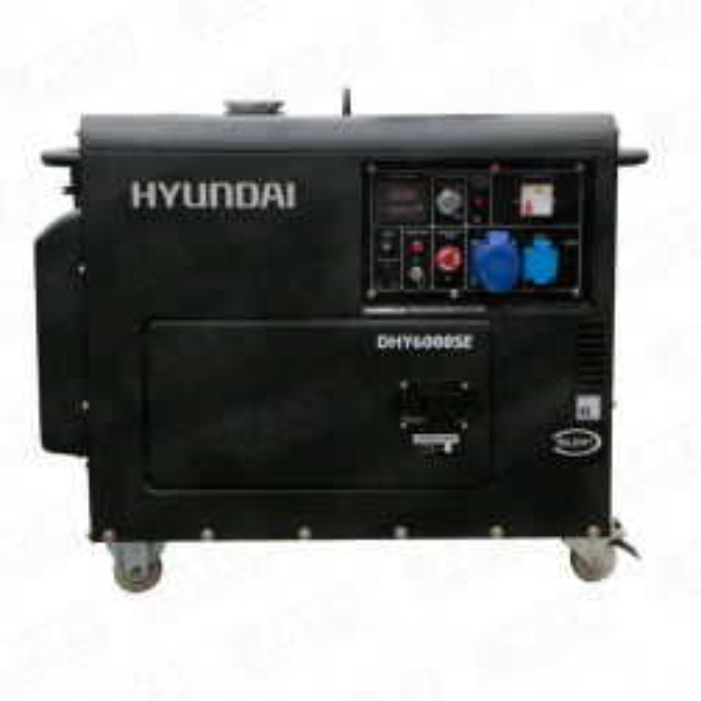 Generador Hyundai Diesel 5.3 Kva, Modelo 78dhy6000se