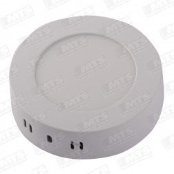 PANEL LED SOBREPUESTO 6W D 120mm LUZ BLANCA