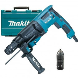 Martillo Combinacion Makita Hr2630t 26mm 800w Rotomartillo