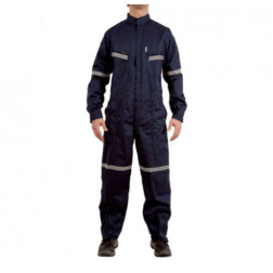 OVERALL AZUL T.50 35/65 ALG/POLY (M)