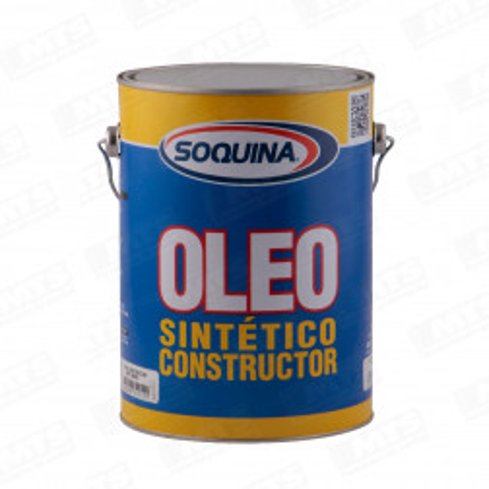 PINTURA SOQUINA OLEO SEMIBRILLANTE CONSTRUCTOR CAFE MORO 1 GL(INFL