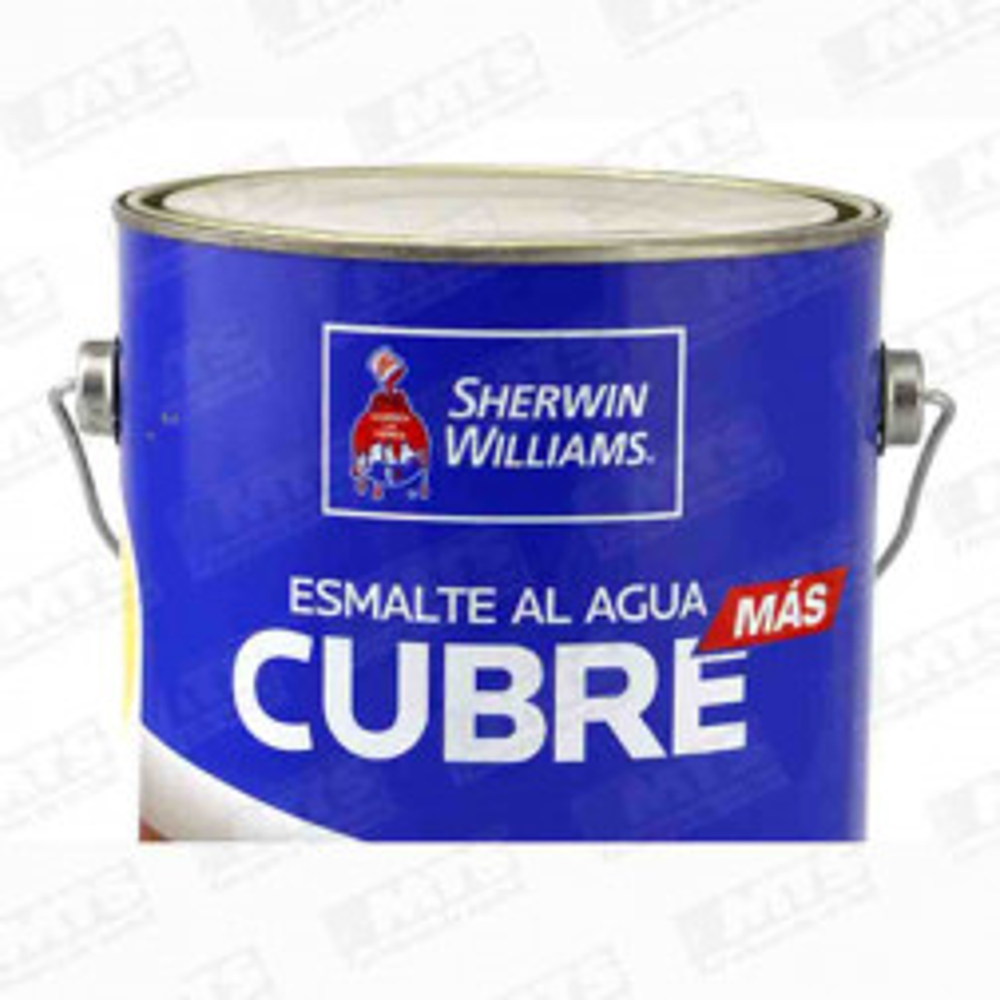 Pintura Sherwin Esmalte Al Agua Cubremas Ocre Gl
