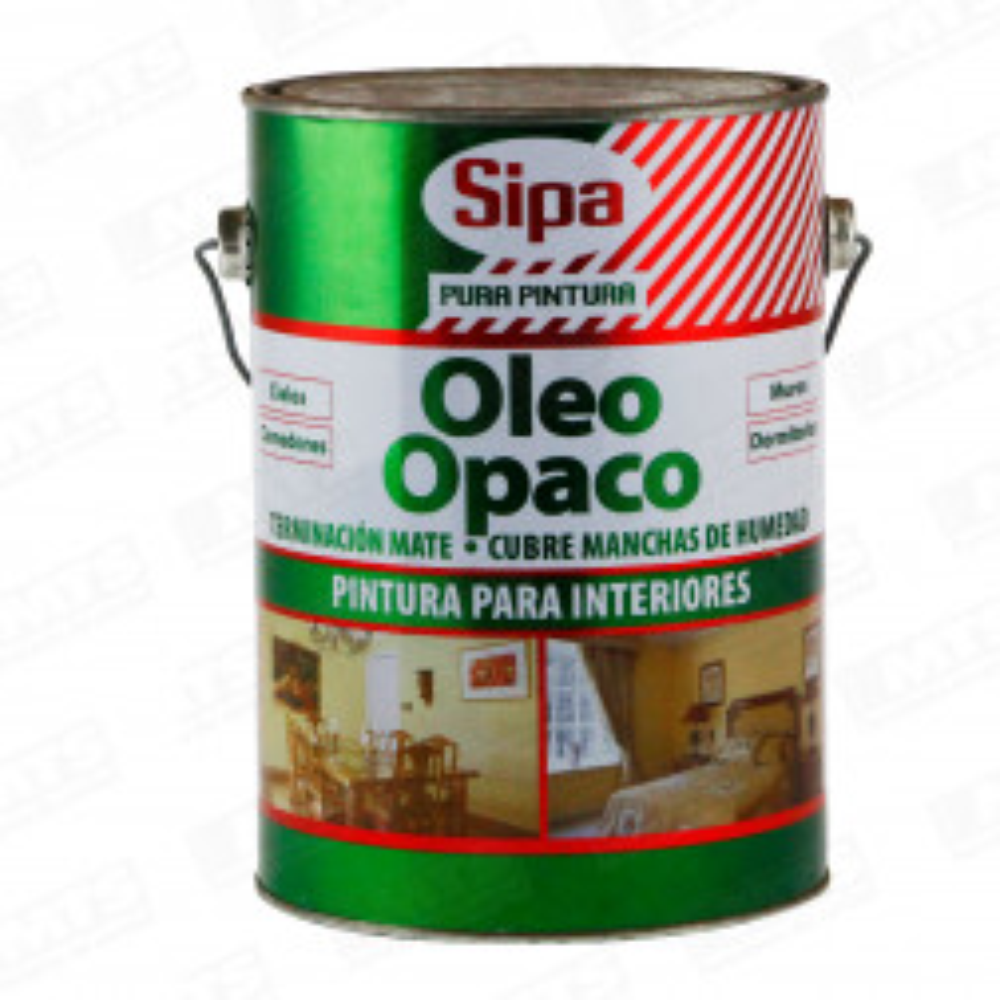 PINTURA SIPA OLEO OPACO BLANCO 1 GALON