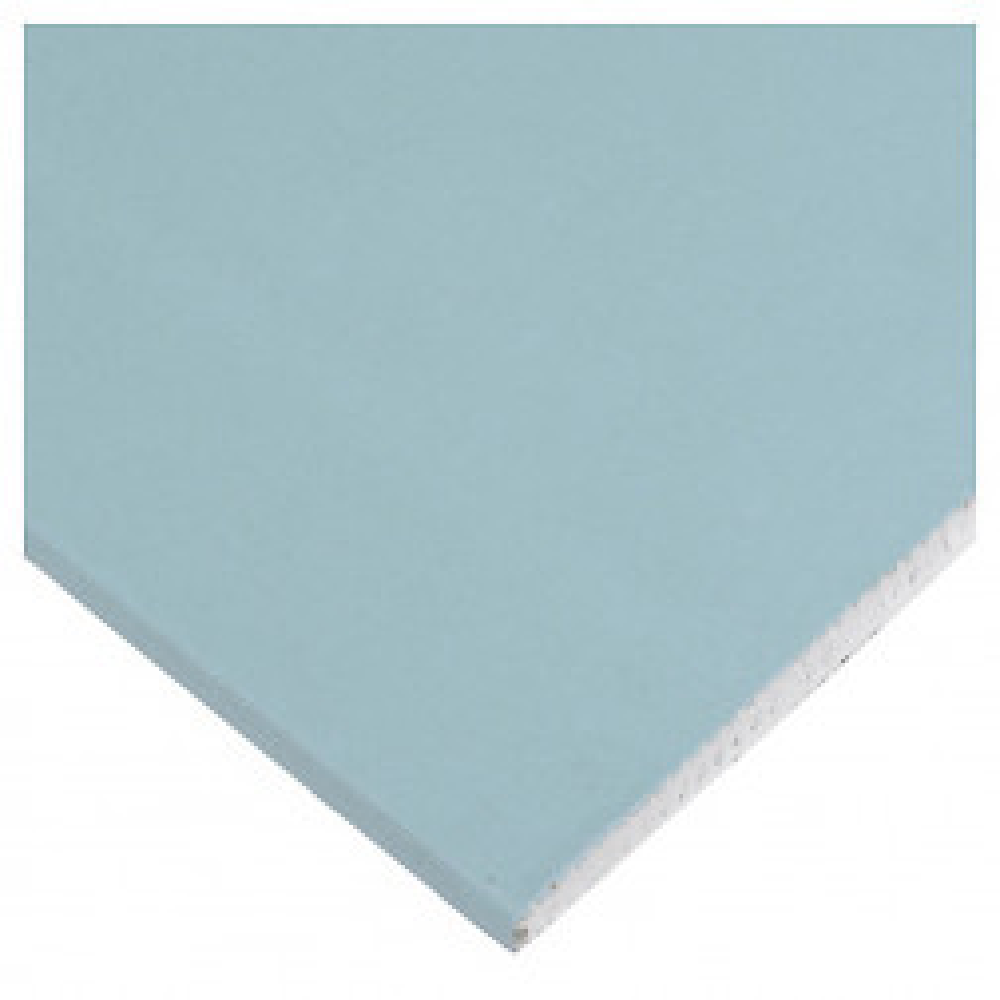 Plancha Yeso Carton 1.20x2.40x15mm Rh  (resistente Humedad) Knauf, Volcanita