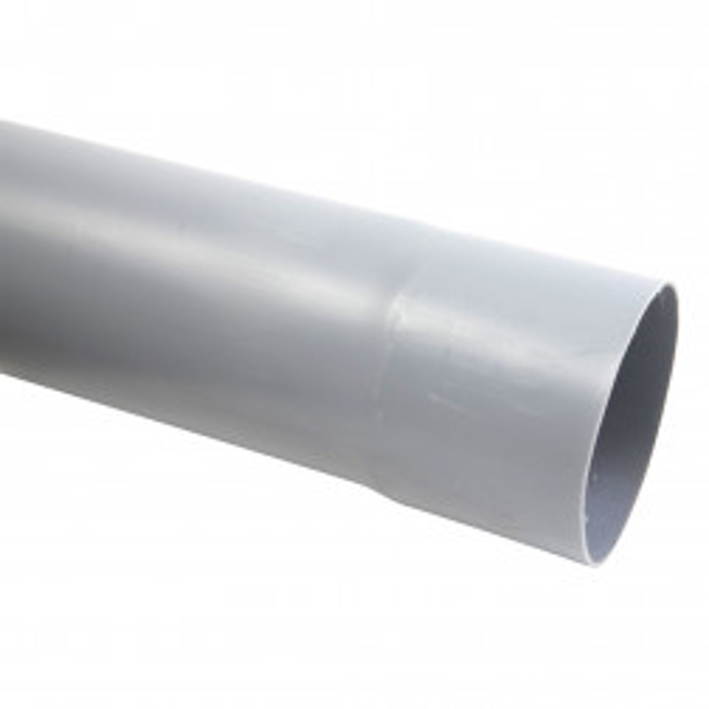 P.V.C. TUBO SANITARIO GRIS 110 mm.(METRO)