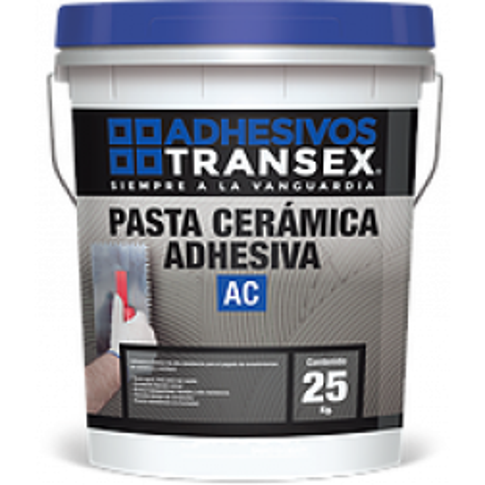 ADHESIVO CERAMICO TRANSEX PASTA AC  25 KG