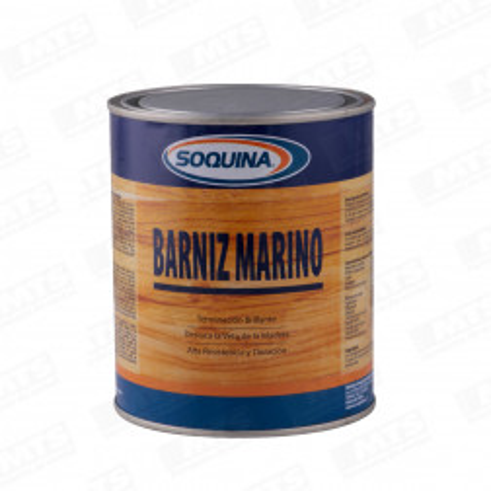 Pintura Barniz Marino Soquina Con Fungicida Ladrillo 1/4gl