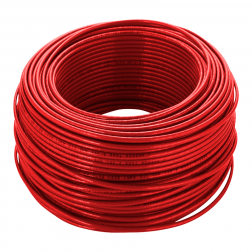 CABLE THHN N 12 AWG ROJO (2.5MM) ROLLOS 100 METROS GENERAL CABLE