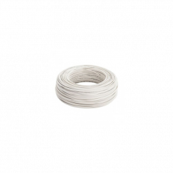 Cable Thhn N 12 Awg Blanco (2.5mm) Rollos 100