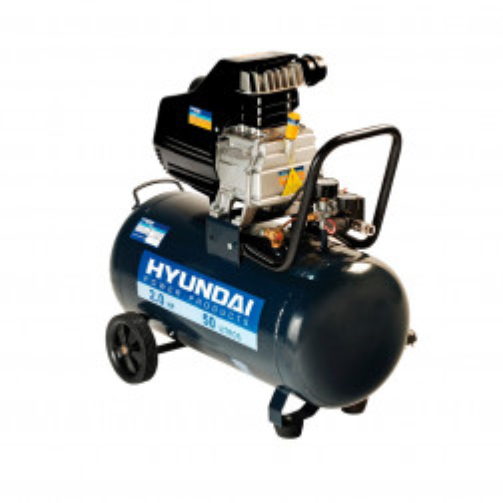 Compresor Hyundai 2hp 50 Litros 78hyac50d
