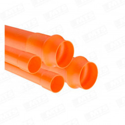 Conduit Alto Impacto 40 Mm. X 6 Mts.naranja