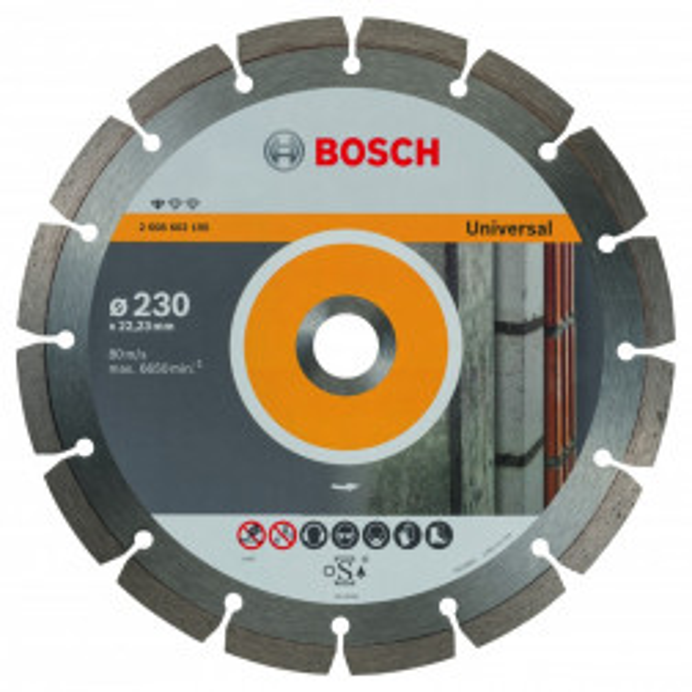Disco Diamantado Para Concreto 9'' Bosch (15065)