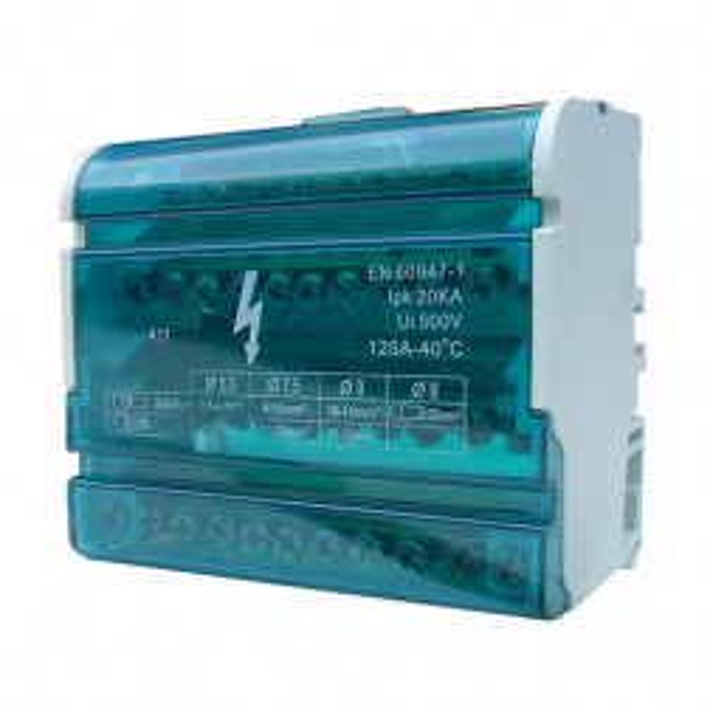 Barra Repartidora Tetrapolar 11 Polos 125a 3528411