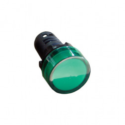 LUZ PILOTO LED VERDE LEXO AD22-22DS 22MM 5371210