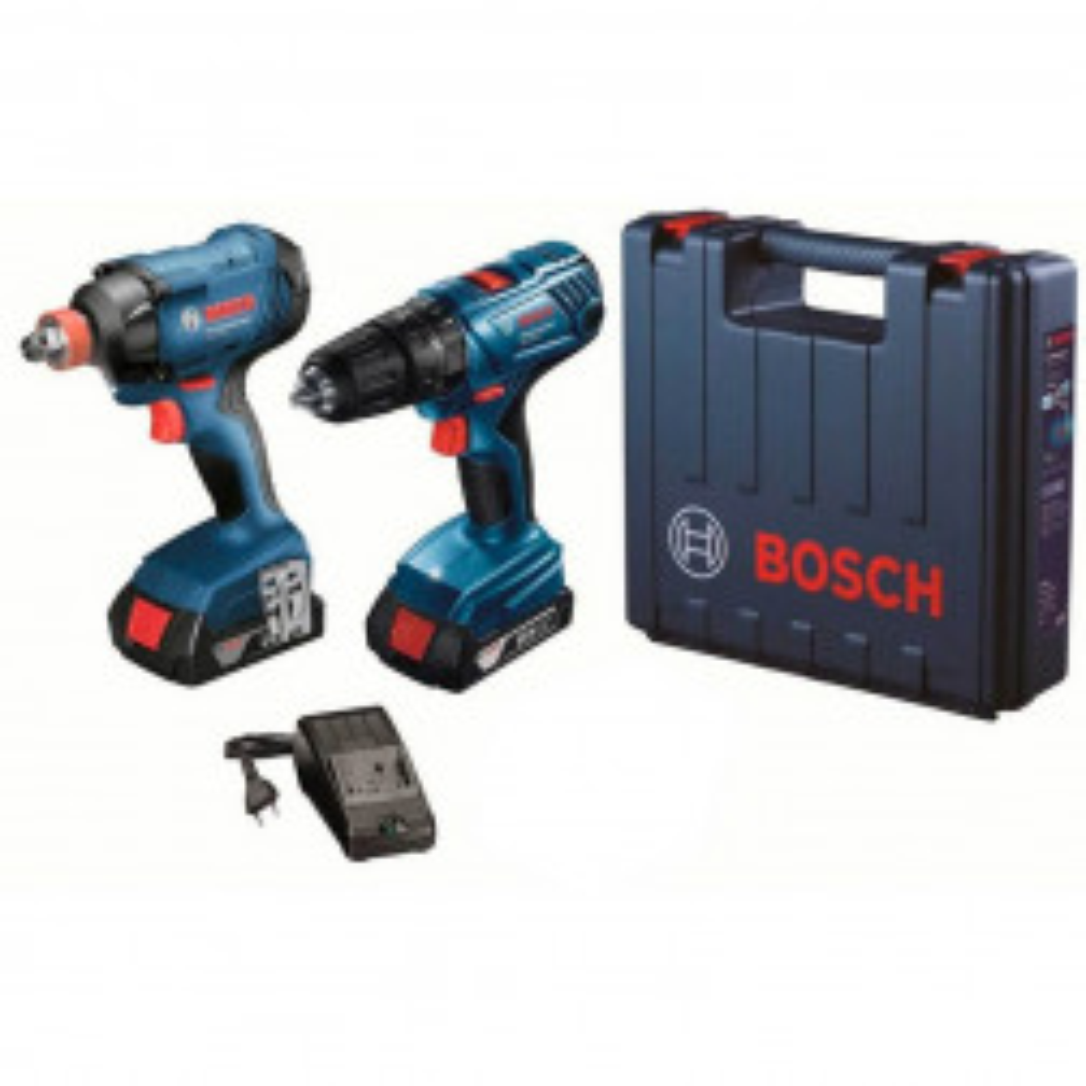 Kit Bosch Talad.perc.gsb 18v+llave De Imp.gdx 180 + Maletin