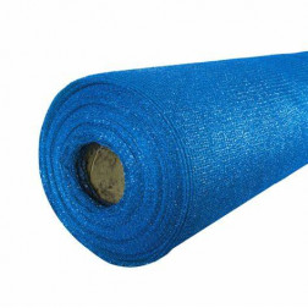 Malla Raschel Azul 65% X 4.20 Rollo 100 Metros