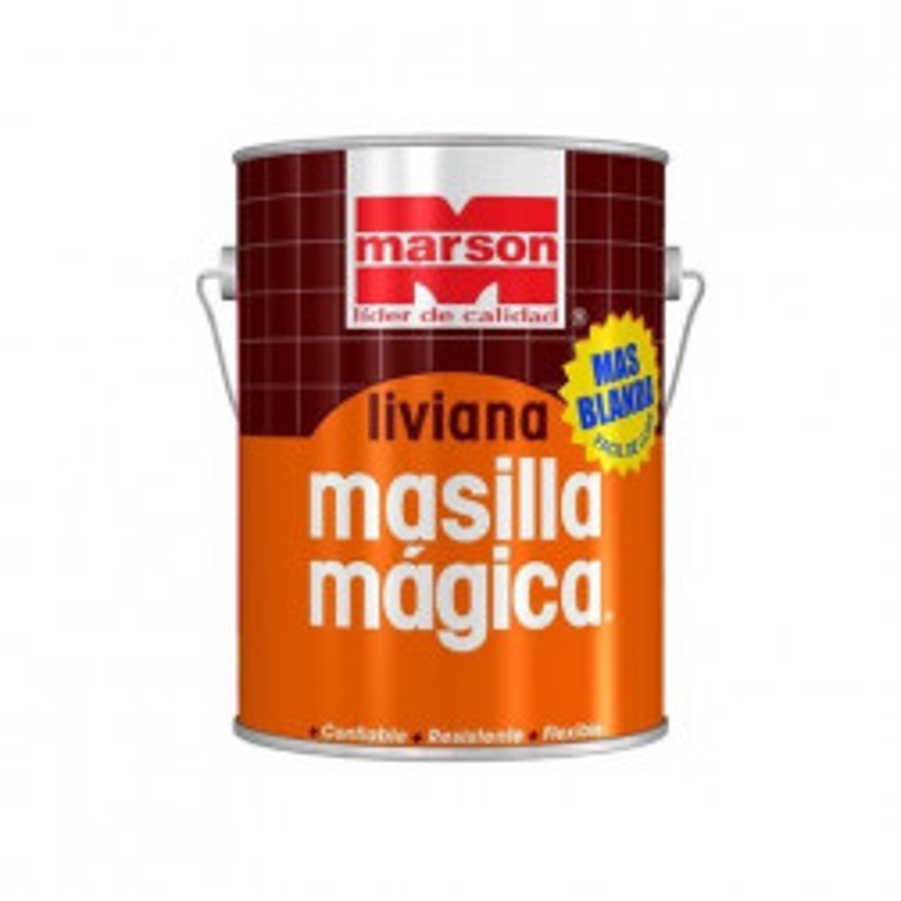 Masilla Magica Blanda Liviana Galon Marson, Sin Endurecedor
