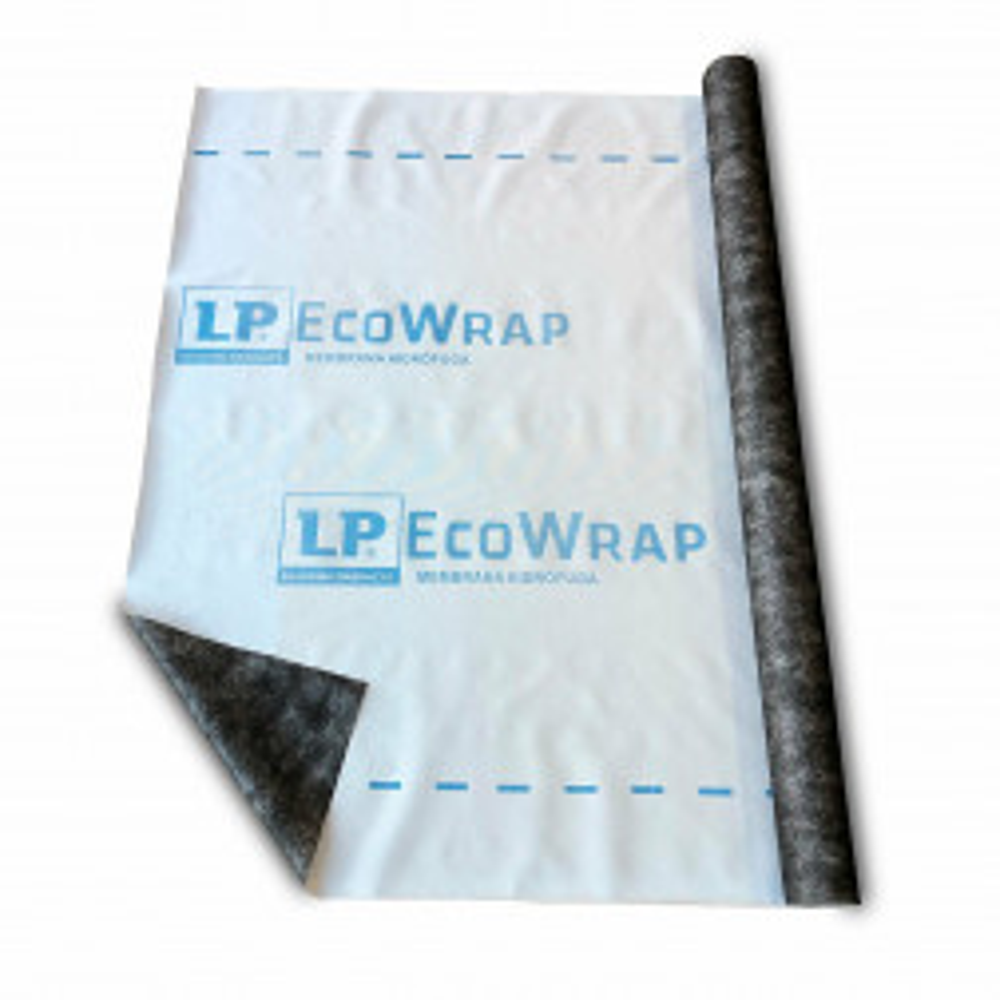 Membrana Hidrofuga Ecowrap 1,5mts X50mts,rola 75m