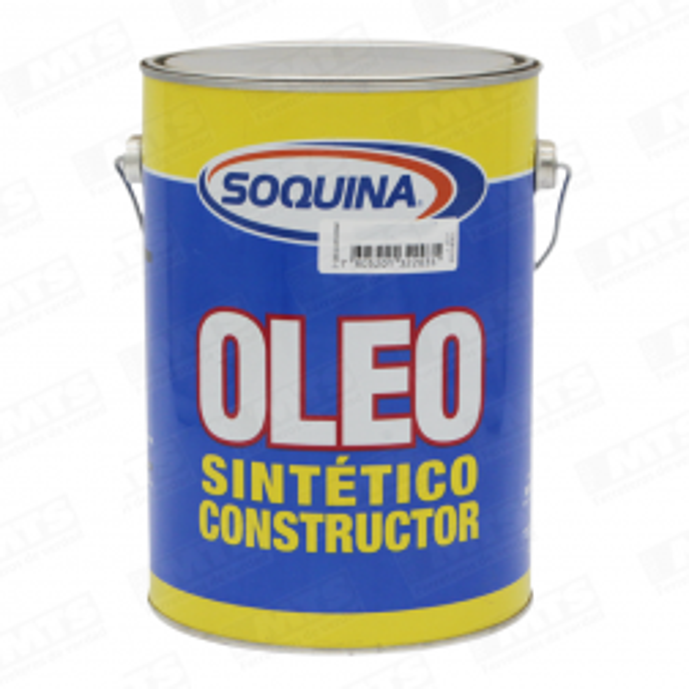 Pintura Soquina Oleo Semibrillante Constructor Bermellon 1 Gl (inf