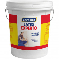 Pintura Ceresita Latex Experto Blanco Tn (4gl)