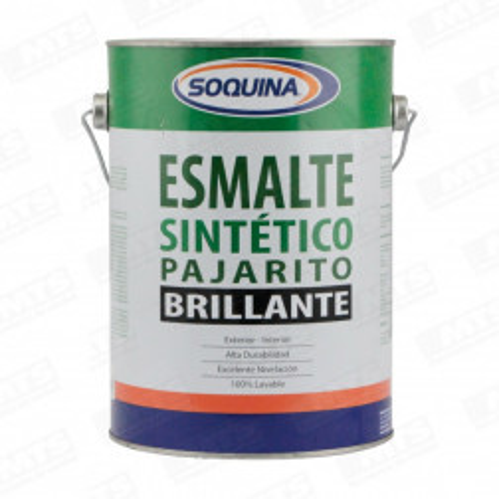 Pintura Soquina Esmalte Sintetico Pajarito Azul Pacifico 1 Gl