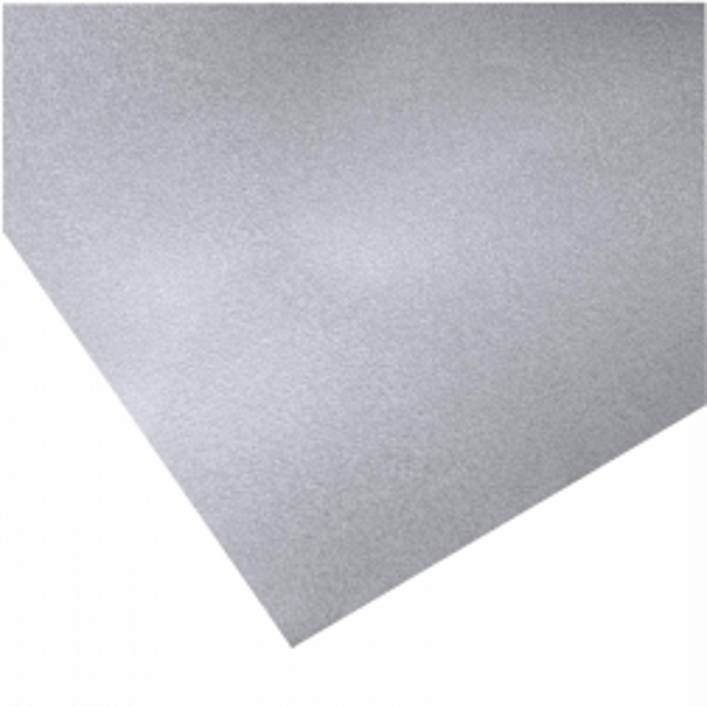 Plancha Zinc Lisa Galvanizada. 0.8x1000x3000