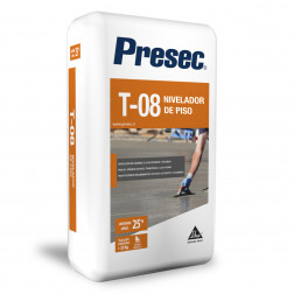Presec T08 Nivelador De Piso Saco 25kg