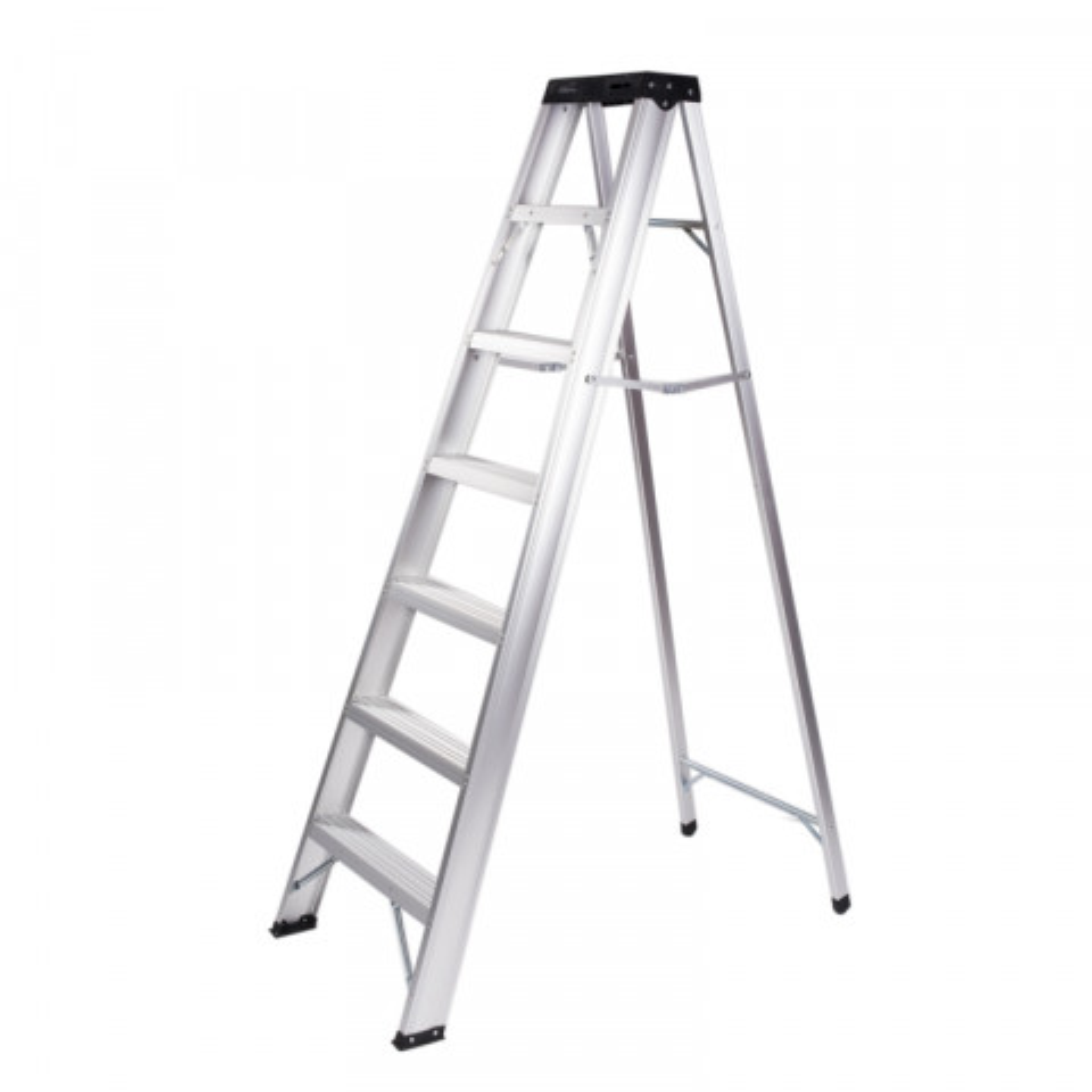 Escalera Aluminio 7 Peldanos (2.13 Mts Aprox)